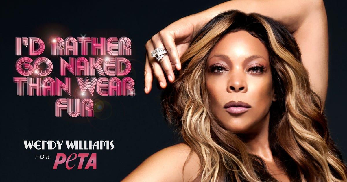 Wendy Williams Will Get Bucket Naked for PETA Billboard