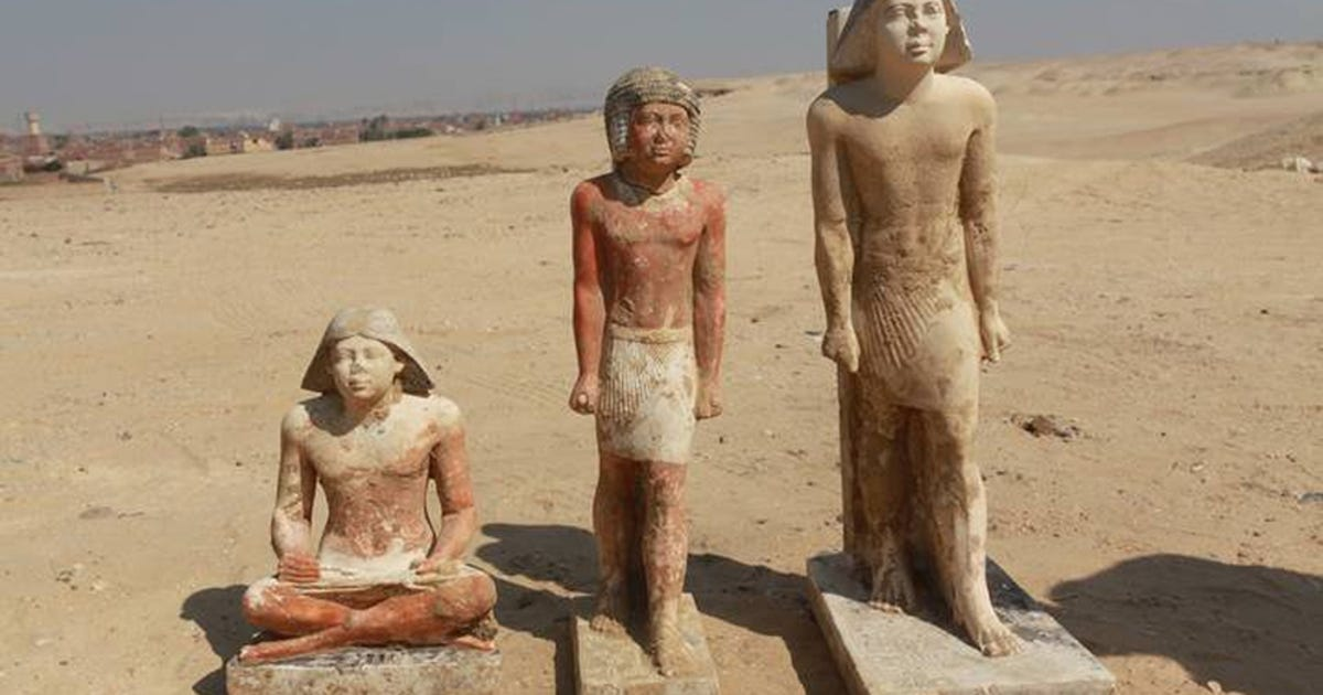 Egyptian princess's tomb found near Cairo