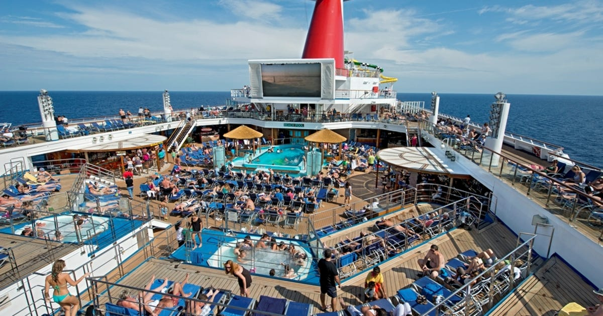 First Look Carnival S Revamped Carnival Sunshine