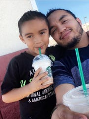 Hector Miguel Garnica, 27, is still missing after the flash flood near Payson. His 7-year-old son Danny Garnica, along with his wife and two other children, died in the flood.
