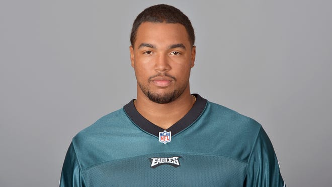This is a 2014 photo of Marcus Smith II of the Philadelphia Eagles NFL football team. This image reflects the Philadelphia Eagles active roster as of Thursday, May 15, 2014 when this image was taken. (AP Photo)