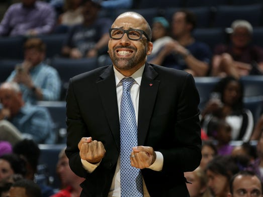 October 3, 2016 -  Memphis Grizzlies head coach David