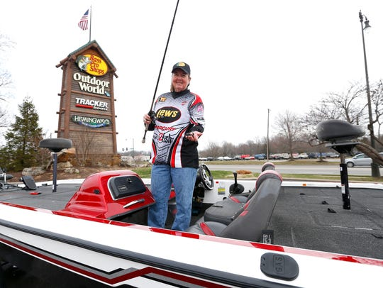 Mickie Wolfinbarger was named Lady Angler of the Year