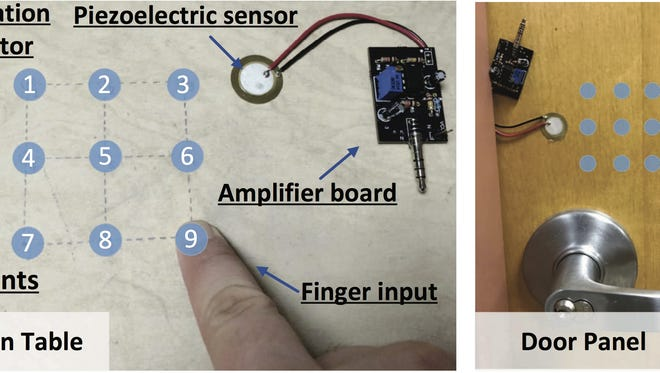 Rutgers engineers have created VibWrite, a smart access system that senses finger vibrations to verify users.
