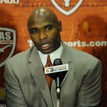 New Texas football coach Charlie Strong.