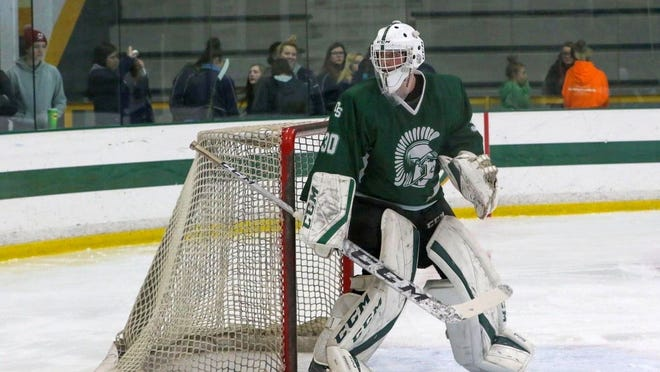 Recent Oakmont Regional graduate Jake Morin played two seasons of varsity ice hockey with the Spartans and led the Coughlin Conference in goals-against average as a senior. Morin has enlisted in the United State Marine Corps and leaves for Recruit Training at Parris Island, S.C., on Saturday, Aug. 1, 2020.