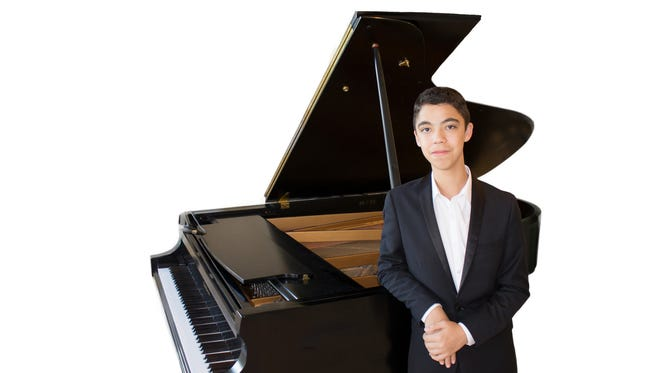 Ethan Bortnick, age 15, will perform during Dixie State University's Celebrity Concert Series on Jan. 5 in St. George.
