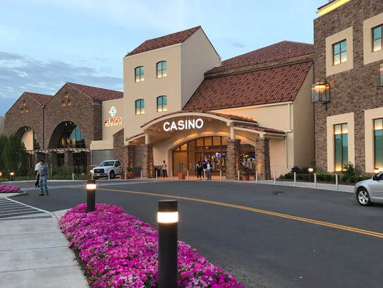 The del Lago Resort and Casino is in Tyre, Seneca County,
