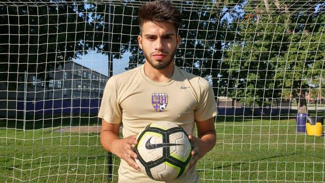 Male soccer player Joseph Zamora