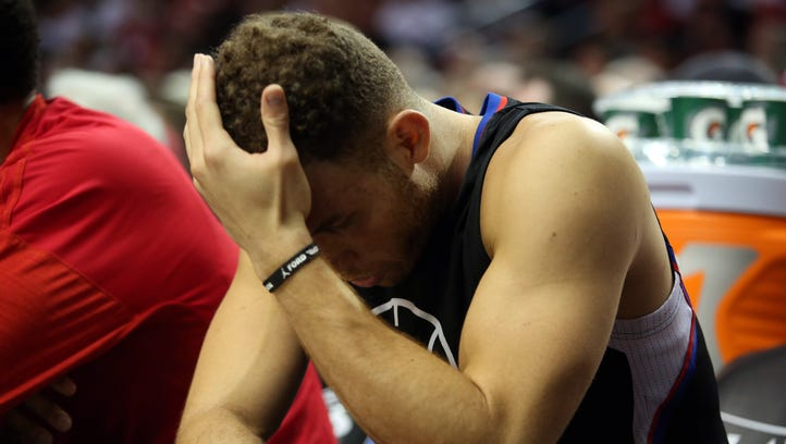 Blake Griffin: Fight with equipment manager was '100% my fault'