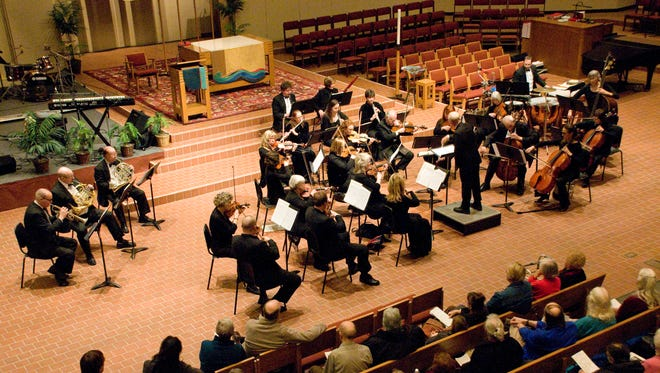 The Minnesota Sinfonia will perform its Keyboard Kaleidoscope Concert at 3 p.m. Sunday at the Paramount Theatre.