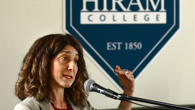 Hiram College Board of Trustees announced on Tuesday that President Lori Varlotta will step down after six years.