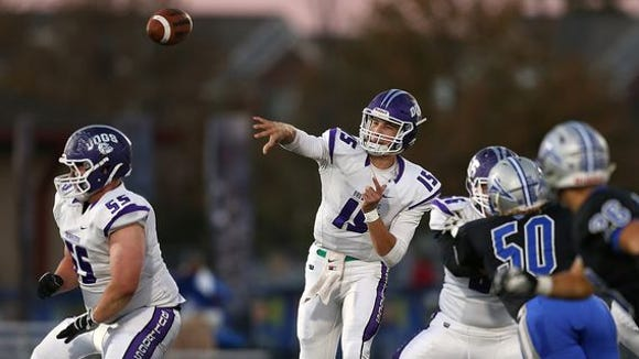Brownsburg's Hunter Johnson was named to the all-Hoosier Crossroads Conference team.