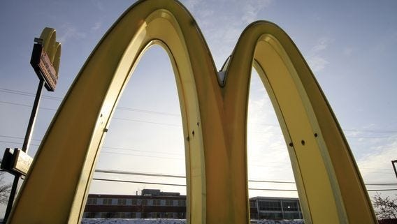 The McDonald's Big Mac is America's favorite fast food.