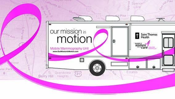 Mobile Mammography Coach will return to Fairview on May 24.
