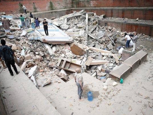 EPA NEPAL EARTHQUAKE DIS EARTHQUAKE NPL -