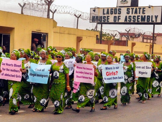 EPA NIGERIA CONFLICT ABDUCTED SCHOOL GIRLS