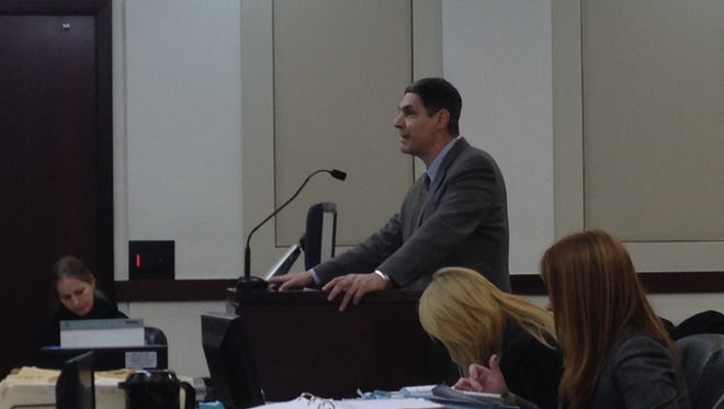 Child abuse prosecutor Brian Holmgren departed the district attorney's office on Tuesday.