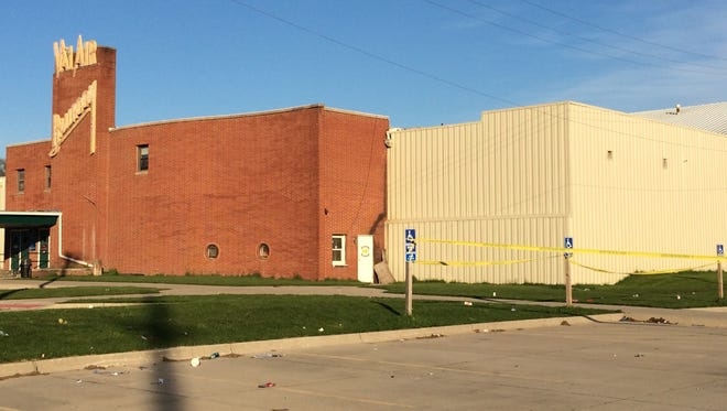 A man was shot shortly before 2 a.m. Monday in the parking lot of the Val Air Ballroom, West Des Moines police said.
