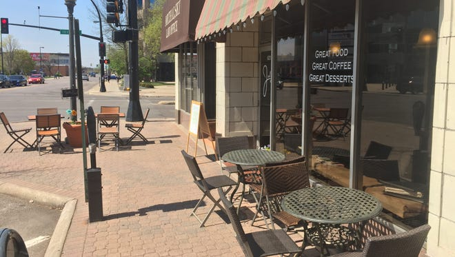 Jules' Bistro is a downtown St. Cloud establishment that is popular in the local art scene and known for a menu that ranges from sandwiches to pizzas.