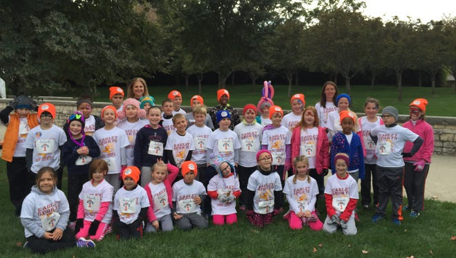 The Eaglets are Liberty Christian's youth cross country program.