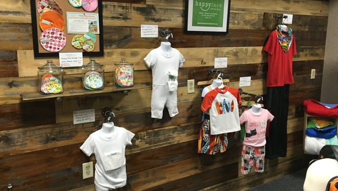 Happy Face Apparel in Neenah is a new small shop catering to special needs children.