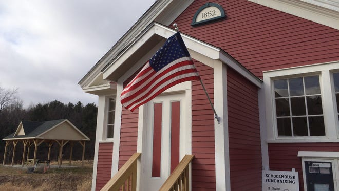 The renovated Little Red Schoolhouse in St. George.