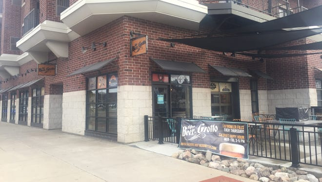 The Beer Grotto, located at 500 E. Michigan Ave., closed its doors on Monday, Dec. 5.