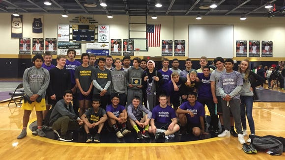 North Henderson wrestling won all nine of its dual team matches Friday and Saturday to take the Seneca (S.C.) Bobcat Brawl championship.