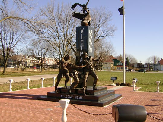York County's Vietnam War Memorial, on the grounds