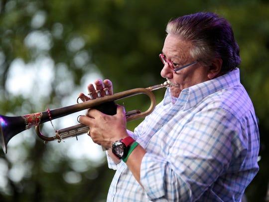 Cuban-born trumpeter Arturo Sandoval will perform at the Palm Springs International Jazz Festival in Palm Springs, Calif. on Nov. 23, 2019