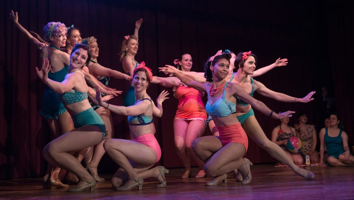 The Flower City Follies in action during a performance