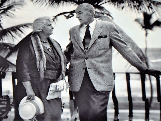 Anne and Willaford Leach in the late 1930s. In 1936,