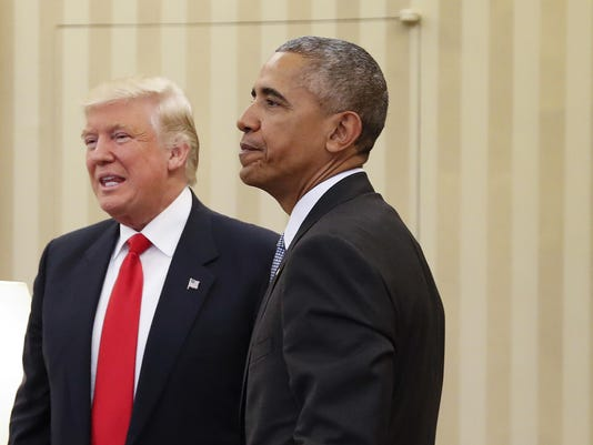 Barack Obama,Donald Trump