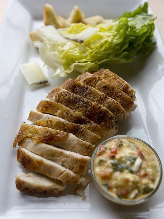Test Kitchen recipe: Basque-style Chicken Salad with Manchego