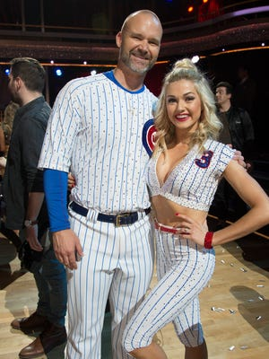 David Ross has traded in Jon Lester for Lindsay Arnold as his primary dance partner, as he moves from the Cubs to Dancing With the Stars.