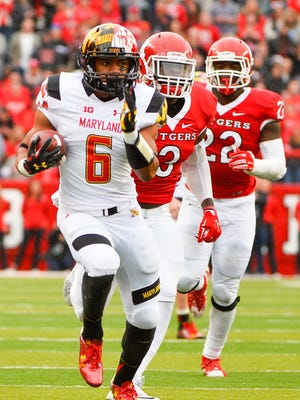 Maryland running back Ty Johnson ranks second in the Big Ten with 557 kick return yards.