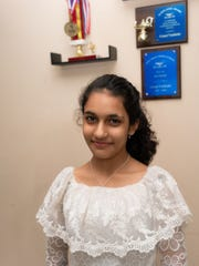 Gauri Vashisht won the 2018 Origin Bank All-Parish Spelling Bee and will compete in the 2018 Scripps National Spelling Bee next week.