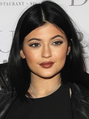 Kylie Jenner attends DuJour Magazine's Jason Binn celebrating Kendall and Kylie Jenner's Bruce Weber shoot  presented by Juice Press at Lavo Restaurant on August 28, 2014 in New York City.