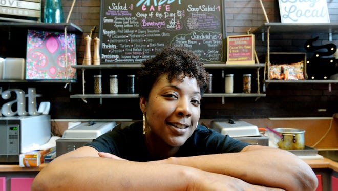 Monique Armand owns Sassi Catering and Cafe.