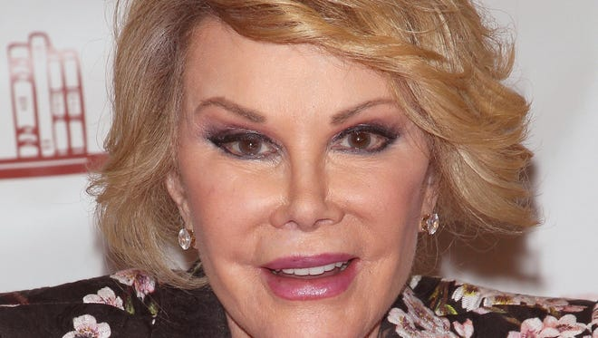 """RIDGEWOOD, NJ - JULY 01:  Joan Rivers promotes """"Diary Of A Mad Diva"""" at Bookends Bookstore on July 1, 2014 in Ridgewood, New Jersey.  (Photo by Jim Spellman/WireImage) ORG XMIT: 500030769 ORIG FILE ID: 451578518"""
