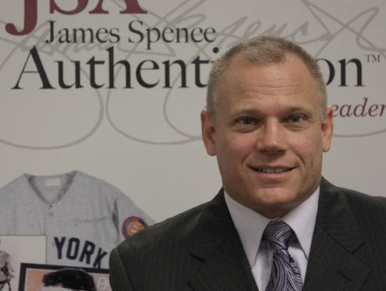 James Spence has founded two sports memorabilia authentication