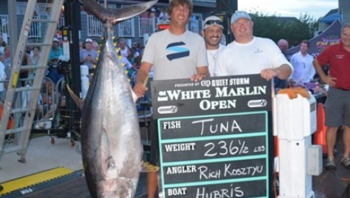 Dispute over marlin could net nj fishing crew 2 3m for Tuna fishing nj