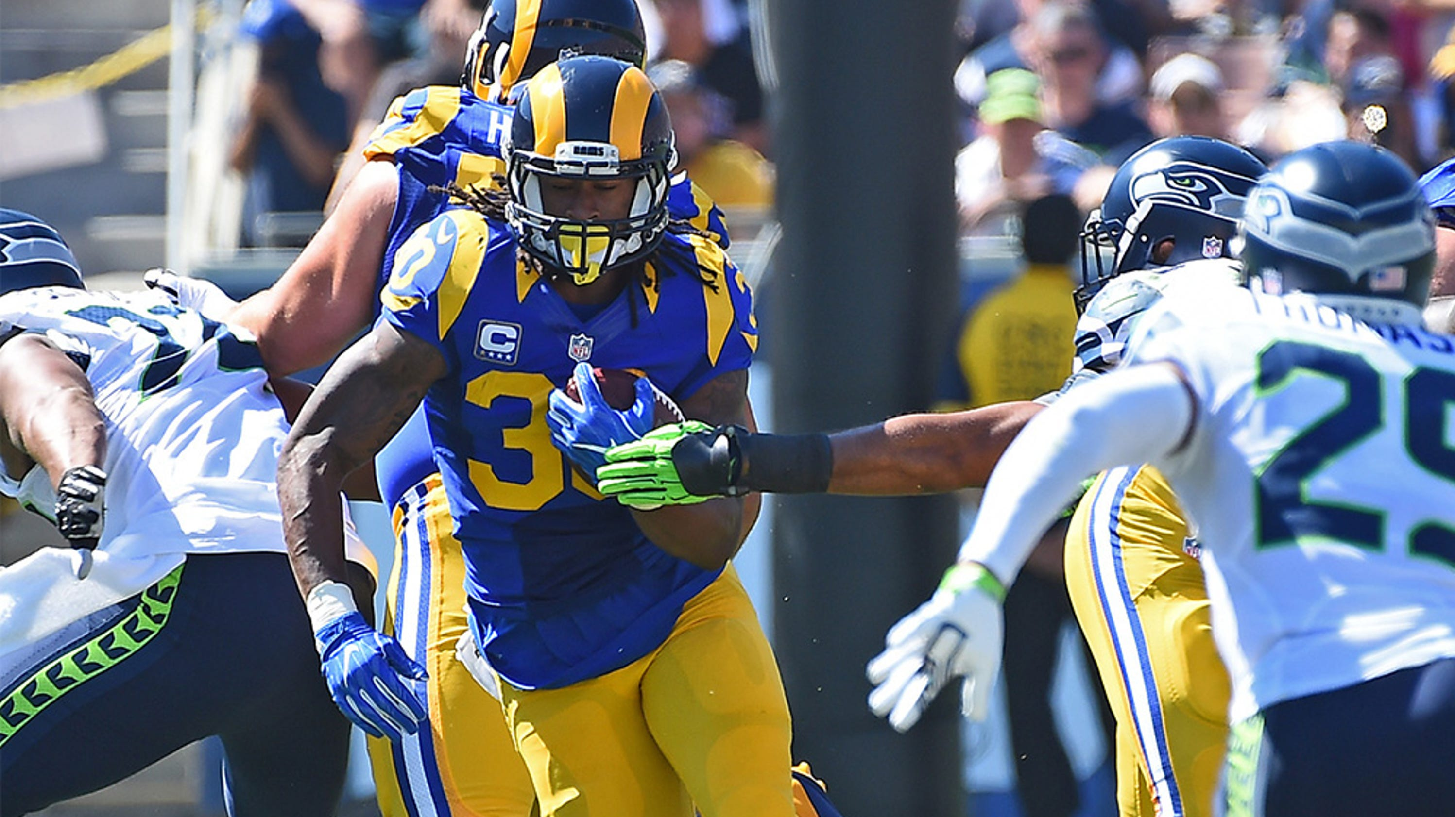 Week 3 Fantasy Studs And Duds Todd Gurley S Breakout Is