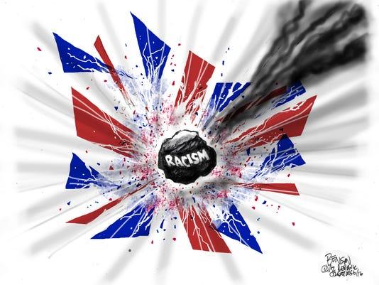 Anti-EU xenophobes kickstart UK sunset