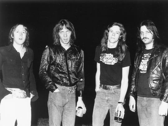 Sonic's Rendezvous Band (left to right: Scott Morgan, Fred Smith, Gary Rasmussen, Scott Asheton.