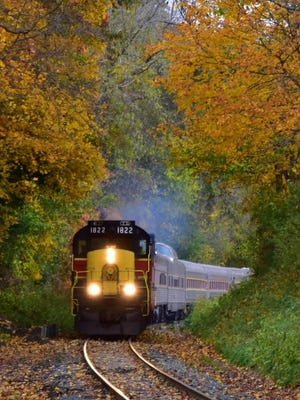 The Cuyahoga Valley Scenic Railroad will resume service on Oct. 1.