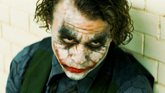Heath Ledger starred as the Joker in the sequel to
