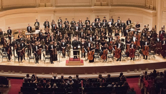 The New Jersey Youth Symphony will perform at The Concert Hall at the  John F. Kennedy Center in Washington, D.C. at 8 p.m. on Feb. 14.
