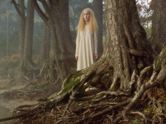 The maiden (Patricia Christian) in the original short